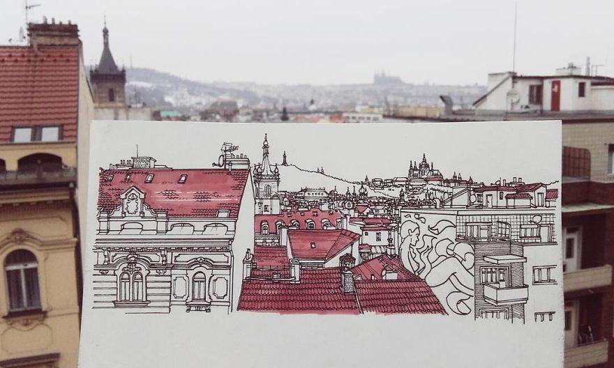 dibujos-mochilero