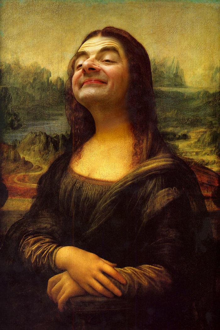 Photoshop-Mr-Bean