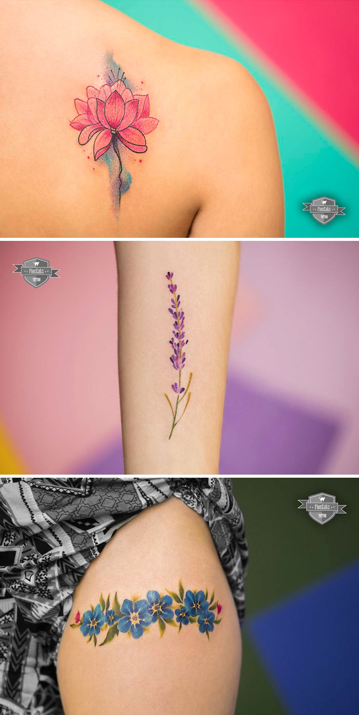 bonitos-tatuajes-de-flores