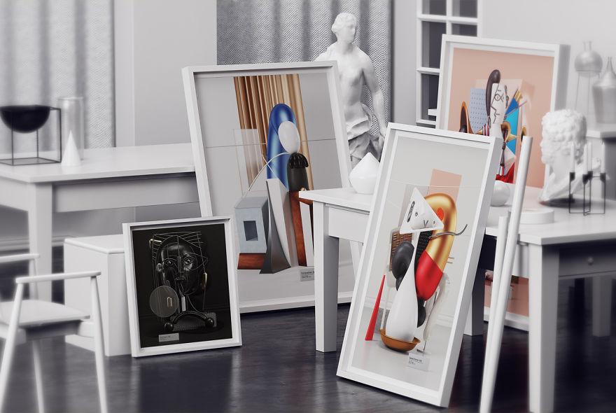 cuadros-de-Picasso-convertidos-en-esculturas