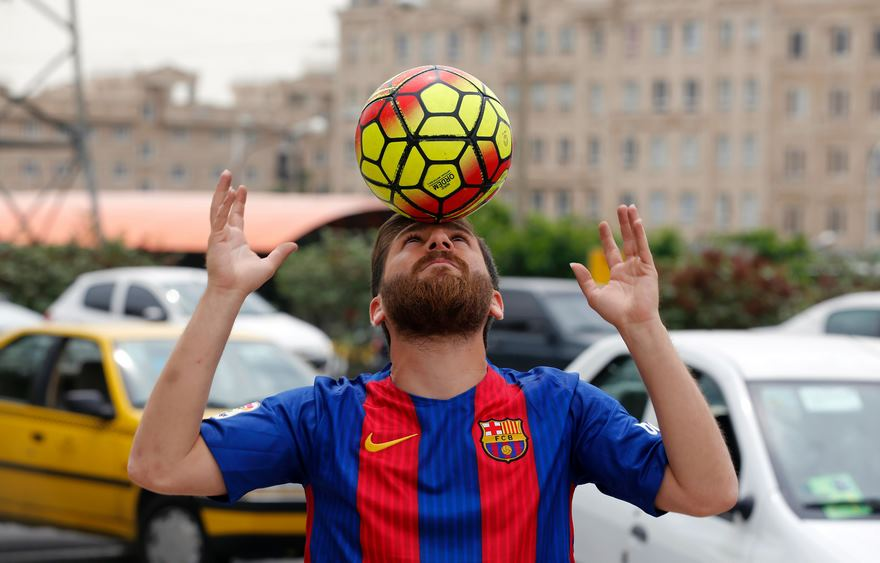 El doble iraní de Leo Messi cbfbf8860c84f
