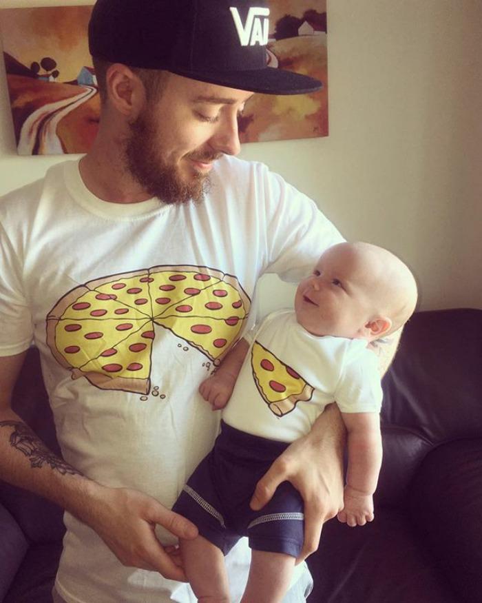 9935d2242105f La mejor camiseta para padre e hijo