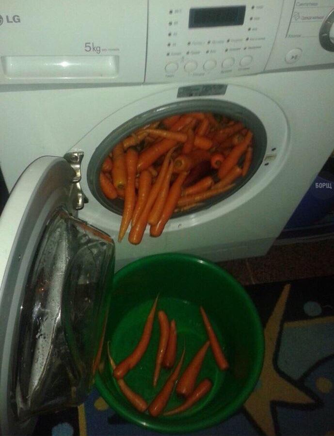 lavando-zanahorias