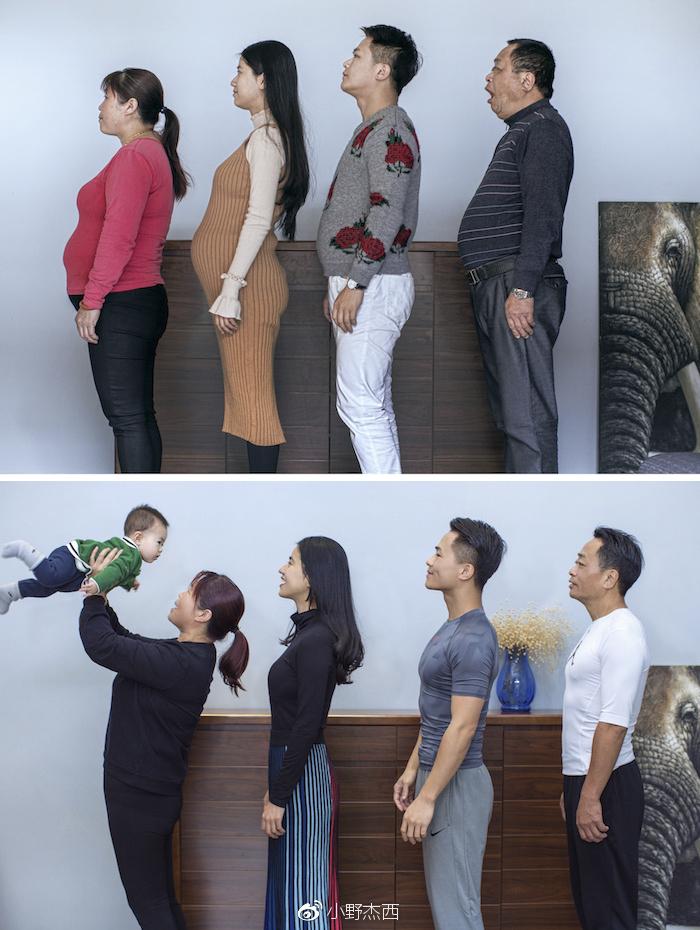 antes-despues-familia-china