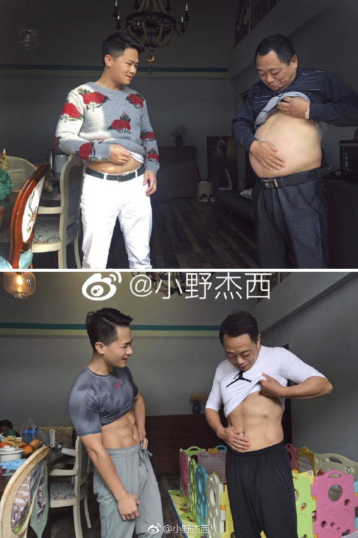 antes-despues-familia-china