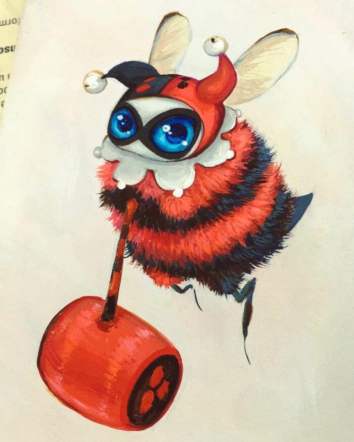 personajes-abejas