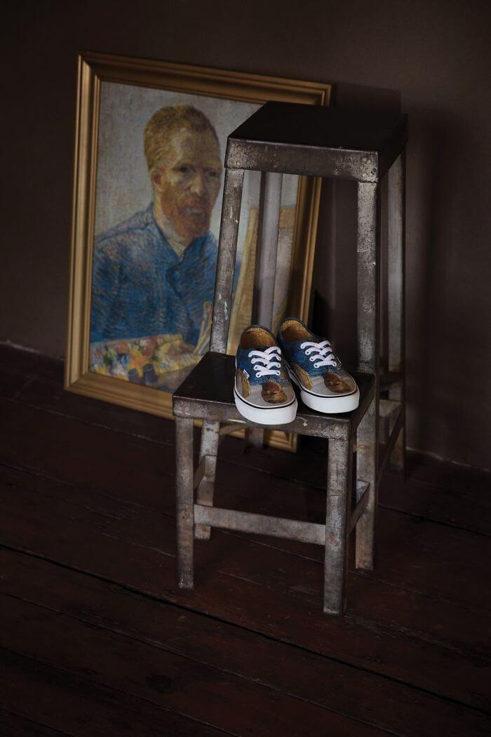 35d466bcb0a50 Colección de zapatillas Vans x Van Gogh Museum