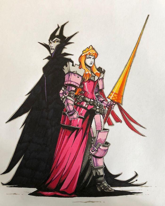 princesa-Disney-guerrera