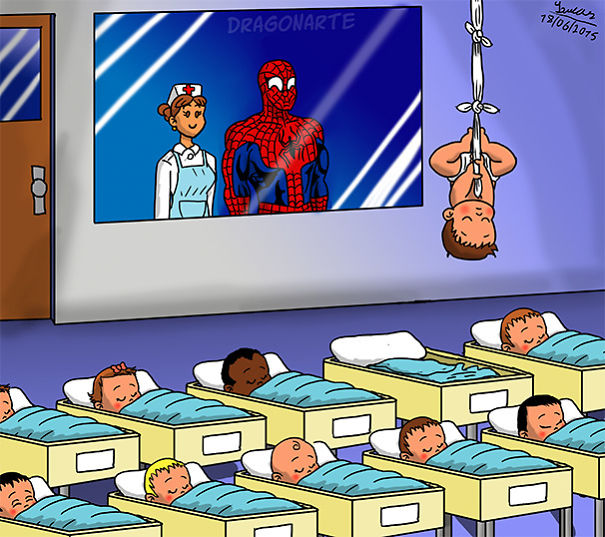 bebes-superheroes