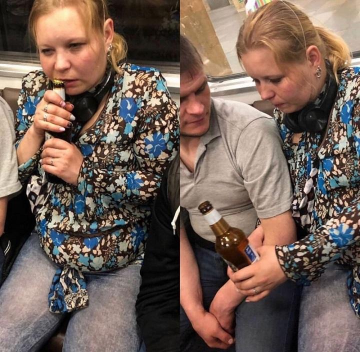 mujer-abriendo-una-cerveza-con-los-dientes
