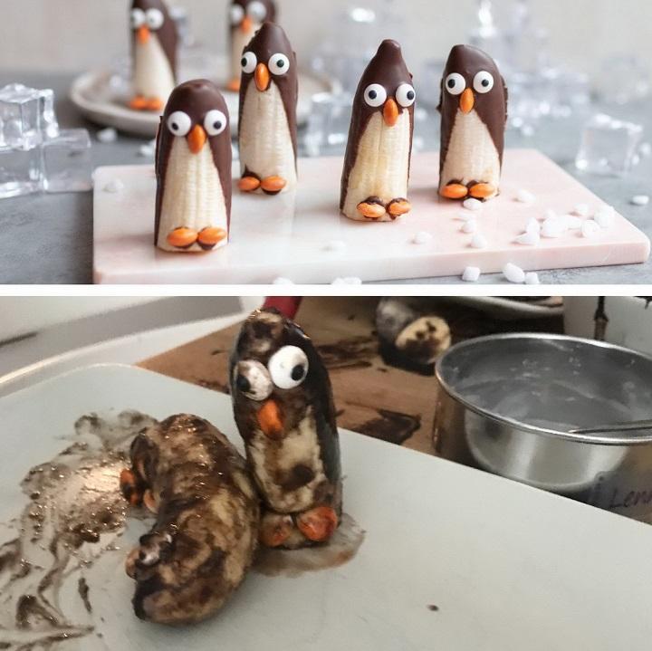 pinguinos-hechos-con-platano