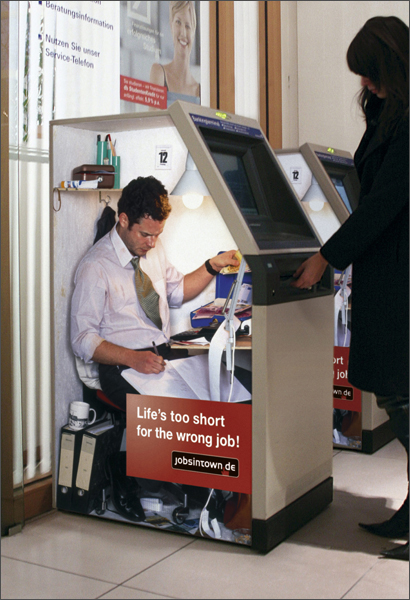 Life´s too short for the wrong job! Jobsintown1